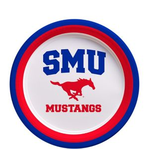 SMU Mustangs Dessert Plates 12ct