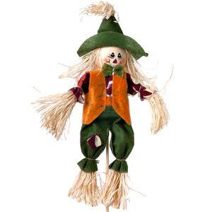 10in Scarecrow Orange/Green