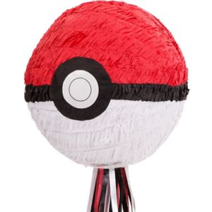 Pull String Pokeball Pinata - Pokemon