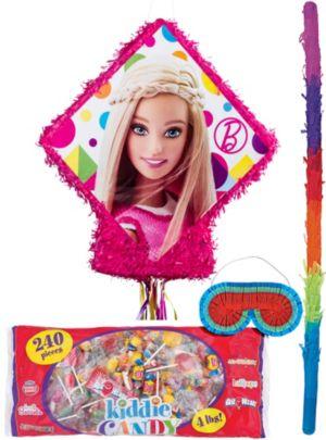 Pull String Sparkle Barbie Pinata Kit