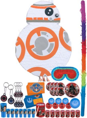 BB-8 Pinata Kit with Favors - Star Wars 7 The Force Awakens