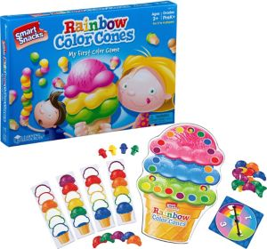 Rainbow Color Cones Board Game