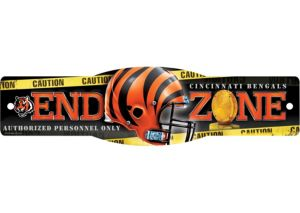 Cincinnati Bengals End Zone Sign