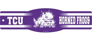 TCU Horned Frogs Street Sign