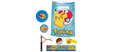 Pokemon Basic Favor Kit for 8 Guests