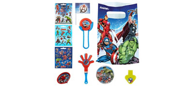 Avengers Assemble Basic Favor Kit for 8 Guests