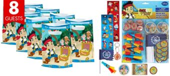 Jake and the Never Land Pirates Basic Favor Kit for 8 Guests
