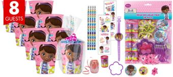 Doc McStuffins Super Favor Kit for 8 Guests