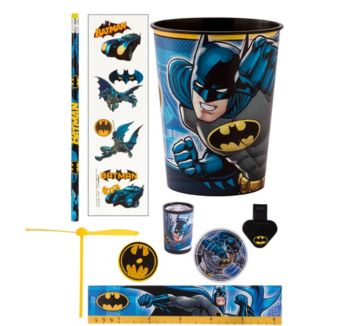 Batman Super Favor Kit for 8 Guests