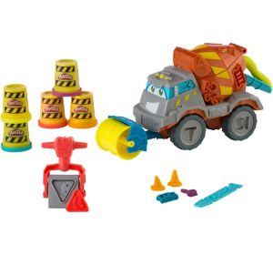 Play-Doh Max the Cement Mixer Playset 9pc