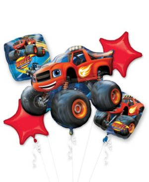 Blaze and the Monster Machines Balloon Bouquet 5pc