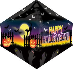 Halloween Balloon - Anglez Haunted Scene