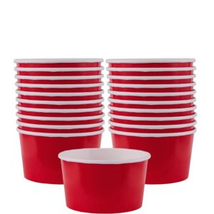 Red Paper Treat Cups 20ct