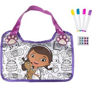 Doc McStuffins Color N' Style Purse Activity Kit 17pc