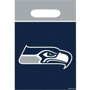 Seattle Seahawks Favor Bags 8ct