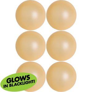 Black Light Pong Balls 6ct