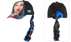 Child Evie Baseball Hat with Ponytail - Disney Descendants