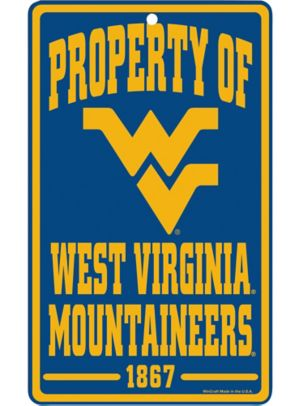 Property of West Virginia Mountaineers Sign