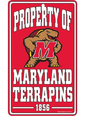 Property of Maryland Terrapins Sign