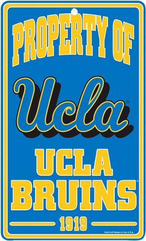 Property of UCLA Bruins Sign