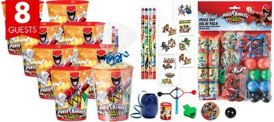 Power Rangers Super Favor Kit