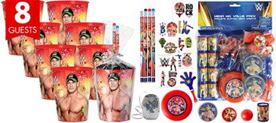 WWE Super Favor Kit for 8 Guests