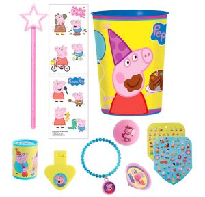 Peppa Pig Super Favor Kit for 8 Guests