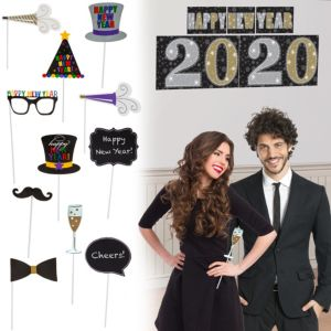 Midnight Elegance Photo Booth Kit