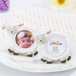 Baby Lamb Photo Frame Place Card Holder