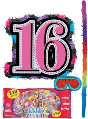 Celebrate Sweet 16 Pinata Kit