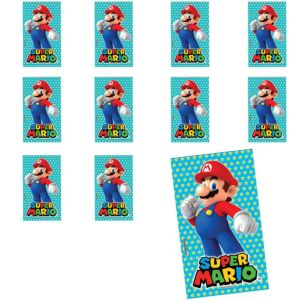 Jumbo Super Mario Sticker 24ct