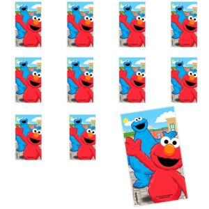 Jumbo Sesame Street Stickers 24ct