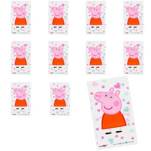 Jumbo Peppa Pig Stickers 24ct