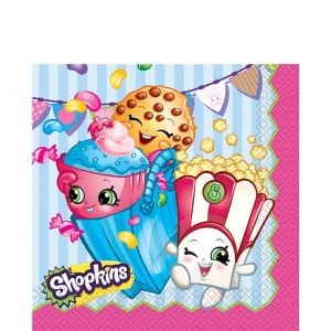 Shopkins Lunch Napkins 16ct