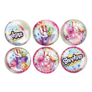 Shopkins Bounce Balls 6ct