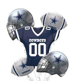 Dallas Cowboys Balloon Bouquet Deluxe 5pc