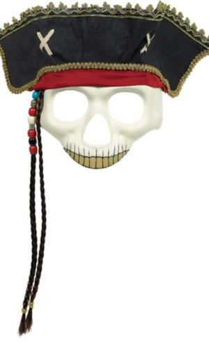 Pirate Hat Skull Mask