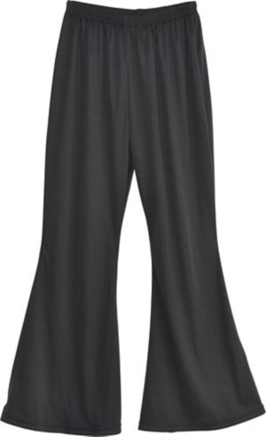 Black Bell Bottoms
