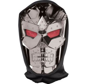 Dark Robot Mask with Hood