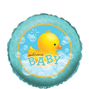 Bubble Bath Baby Shower Balloon