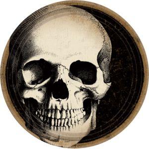 Boneyard Skull Dessert Plates 60ct