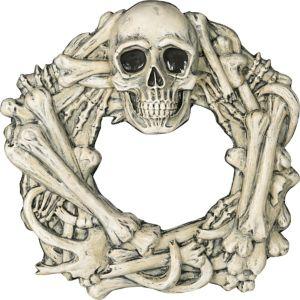 Boneyard Skull & Bone Wreath