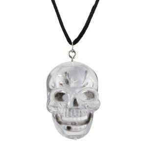 Light-Up Skull Necklace