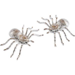 Silver Spiders 2ct