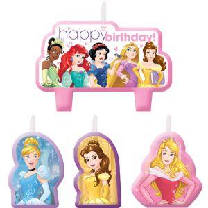 Disney Princess Birthday Candles 4ct
