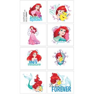 Little Mermaid Tattoos 1 Sheet