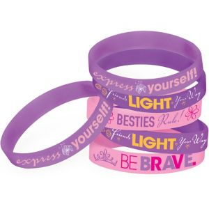 Rapunzel Wristbands 6ct