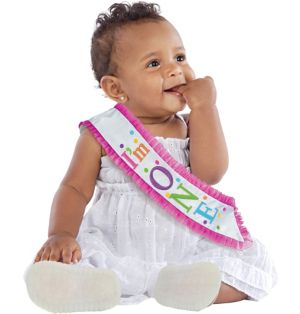 I'm One 1st Birthday Sash