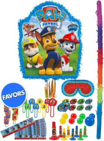 PAW Patrol Pinata Kit with Favors