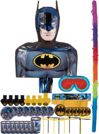 Batman Pinata Kit with Favors